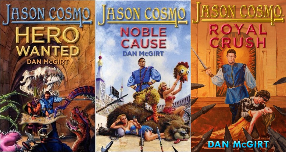 Jason Cosmo Series covers 1-3